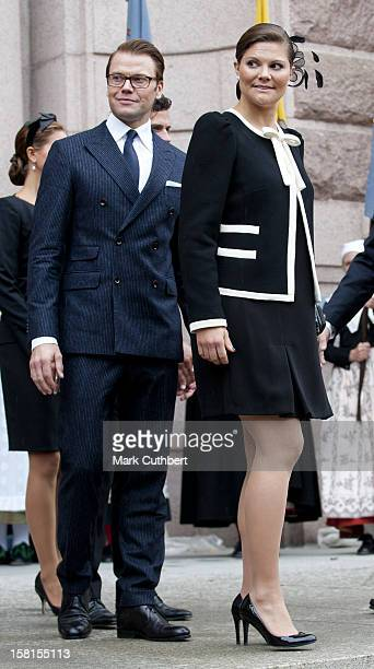 Prince Daniel And Princess Victoria Of Sweden At The Opening Of The Parliamentary Session The Riksdag Stockholm