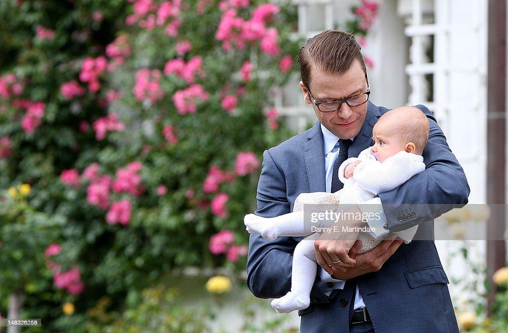 Swedish Royal Family - Celebrates Crown Princess Victoria's 35th Birthday : News Photo