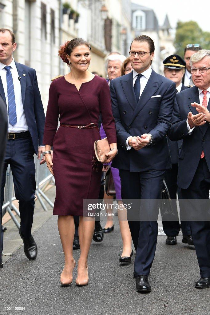 Celebration Of The Bicentenary Of The Bernadotte Dynasty In Pau : News Photo