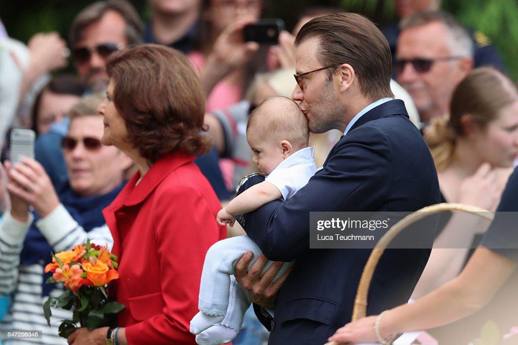 Victoria of Sweden Celebrates Her Birthday : ニュース写真