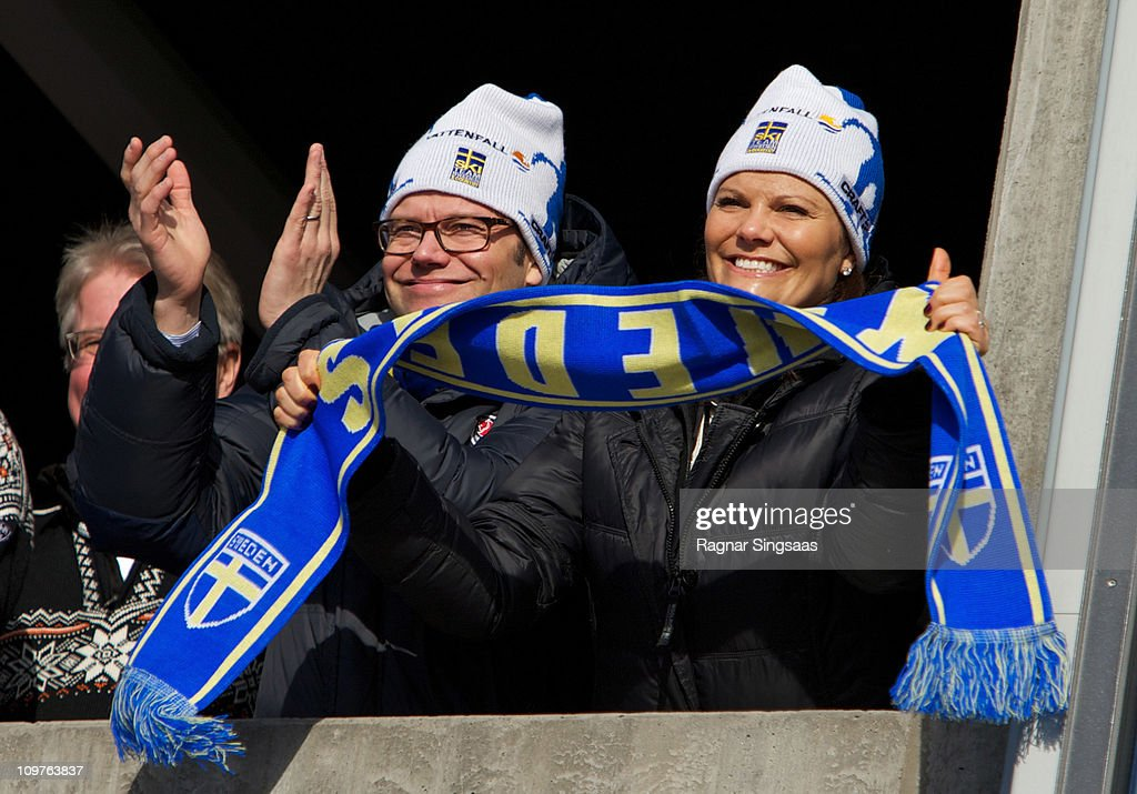 VIPs Attend The FIS Nordic World Ski Championships 2011 - Day 6