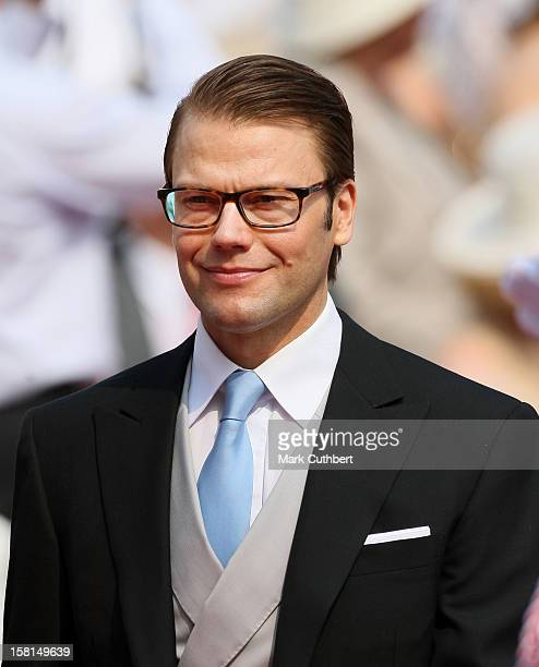 Prince Daniel Of Sweden Arriving For The Wedding Of Prince Albert Ii Of Monaco And Charlene Wittstock At The Place Du Palais