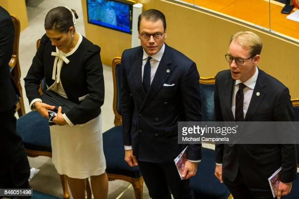 Prince Daniel of Sweden attends the opening of the Parliamentary session on September 12, 2017 in Stockholm, Sweden.