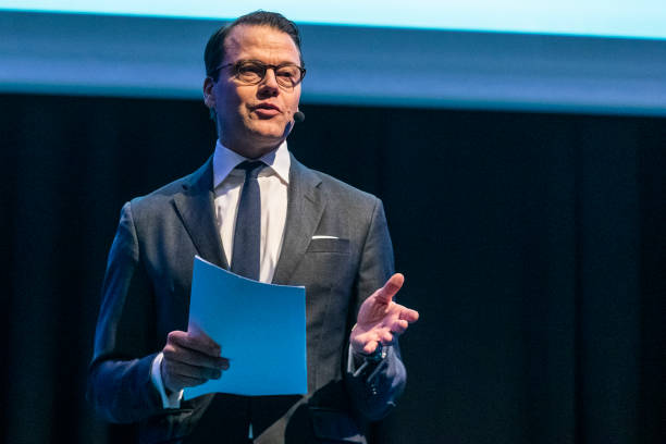 SWE: Prince Daniel of Sweden Attends Sweden Sustaintech Venture Day