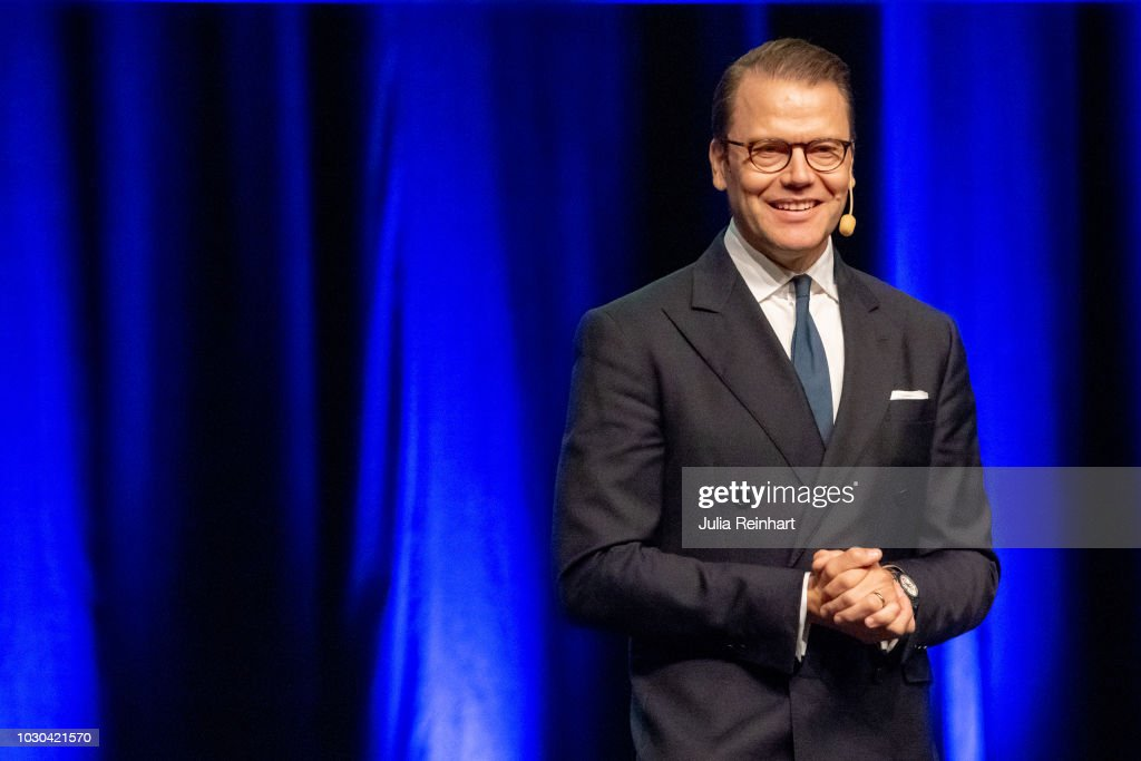 Prince Daniel Of Sweden Attends Elevhalsan's Launch Day in Gothenburg