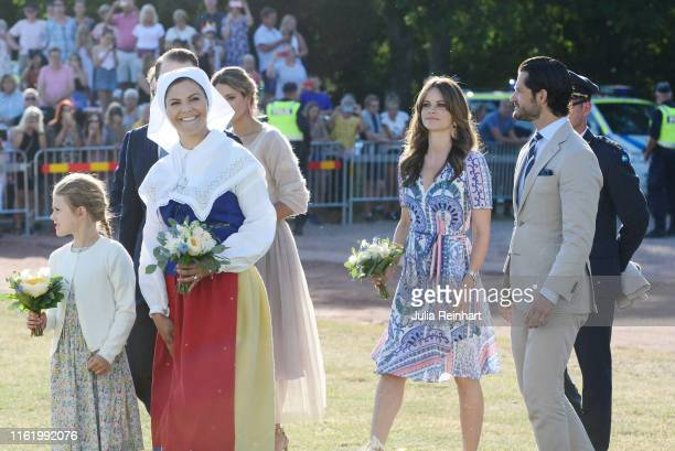 Prince Daniel of Sweden Princess Estelle of Sweden Crown Princess Victoria of Sweden Prince Carl Philip of Sweden and Princess Sofia of Sweden are...