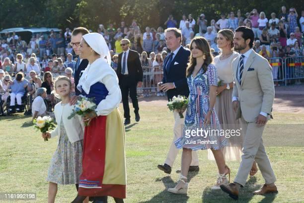 Prince Daniel of Sweden, Princess Estelle of Sweden, Crown Princess Victoria of Sweden, Prince Carl Philip of Sweden, Princess Sofia of Sweden,...
