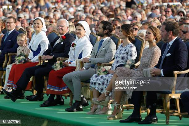 Prince Daniel of Sweden Princess Estelle of Sweden Crown Princess Victoria of Sweden King Carl Gustaf of Sweden Queen Silvia of Sweden Prince Carl...