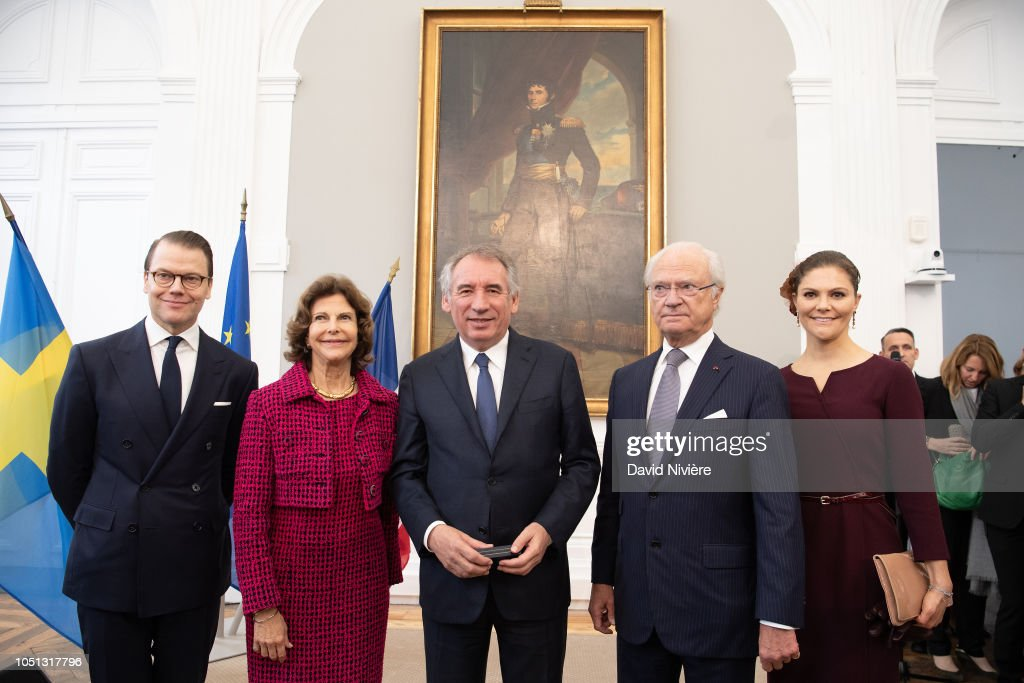 Celebration Of The Bicentenary Of The Bernadotte Dynasty In Pau : News Photo