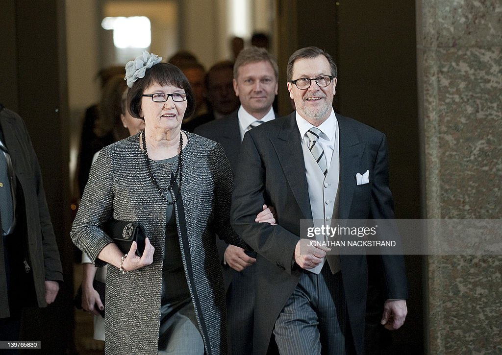Prince Daniel's parents Olle Westling an : News Photo