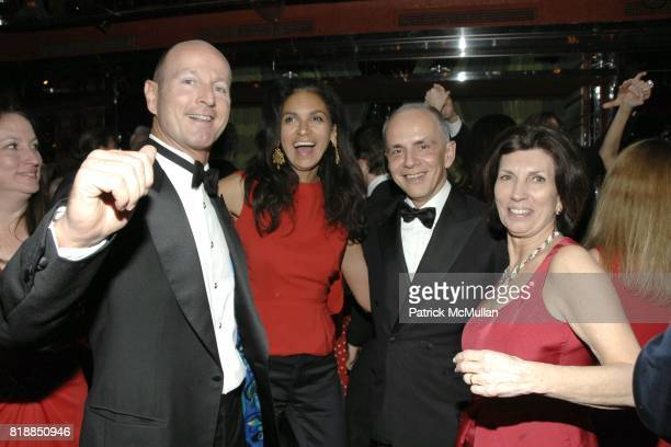 Prince Dimitri of Yugoslavia Susan FalesHill Robert Couturier and Pamela Fiori attend Alison Mazzolaís Birthday Party hosted by George Farias and...