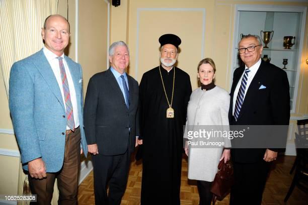 Prince Dmitri of Yugoslavia Prince Alexander of Serbia Bishop Irinej Marina Pellicchi and Branko Terzic attend Lifeline New York Hosts Annual Benefit...