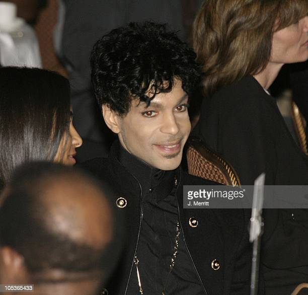 Prince during 2nd Annual AEC Grammy Sunday Brunch at The Regent Beverly Wilshire Hotel in Beverly Hills California United States
