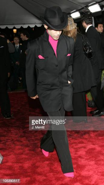Prince during 31st Annual People's Choice Awards Arrivals at Pasadena Civic Auditorium in Pasadena California United States