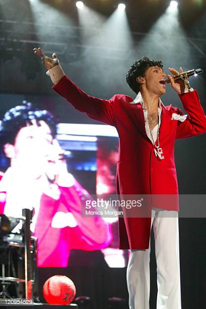 Prince during Prince Performs at the Essence Music Festival 2004 at New Orleans Superdome in New Orleans Lousiana United States