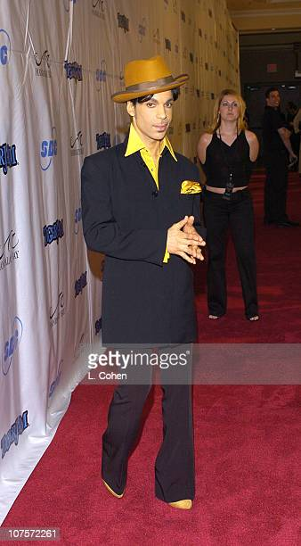 Prince during Tiger Jam VII Red Carpet Arrivals at Mandalay Bay Events Center in Las Vegas Nevada