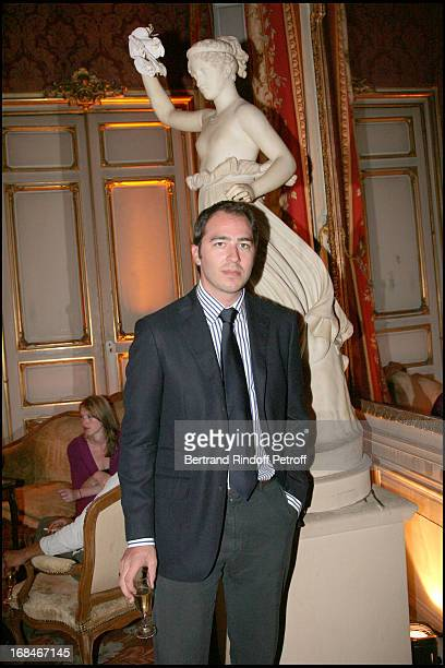 Prince Dushan De Yougoslavie at Party Hosted By Laetitia Pozzo Di Borgo At L'Hotel Pozzo Di Borgo In Celebration Of The Preview Of The Robert...