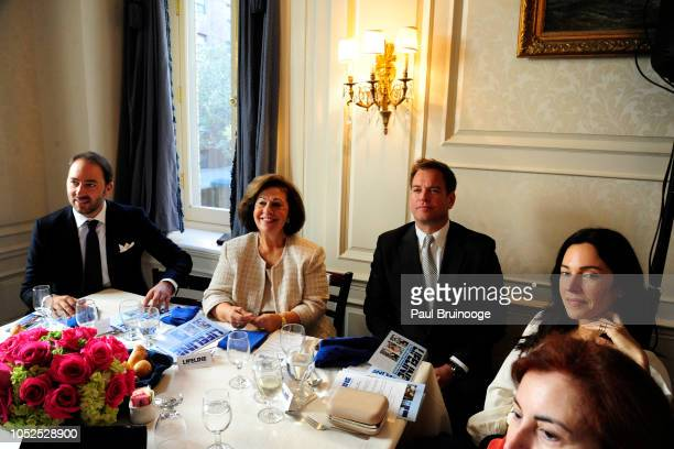 Prince Dushan of Yugoslavia Princess Katherine of Serbia Michael Weatherly attend Lifeline New York Hosts Annual Benefit Luncheon At The Liederkranz...