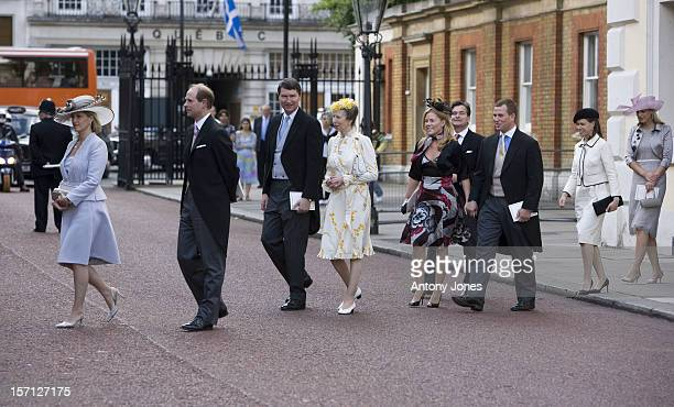 Prince Edward And Sophie Countess Of Wessex Princess Anne Timothy Laurence Autumn Phillips Peter Phillips Lady Sarah Chatto And Gabriella Windor At...