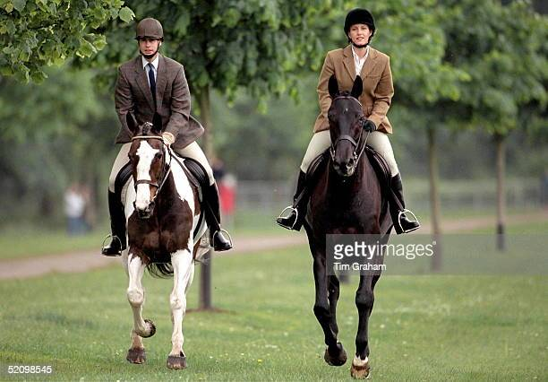 Prince Edward And Sophie Rhysjones At The Royal Windsor Horse Show