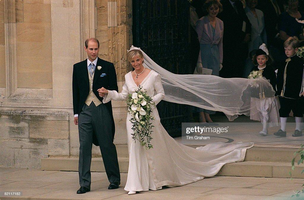 Prince Edward And Sophie Wedding : Foto jornalística