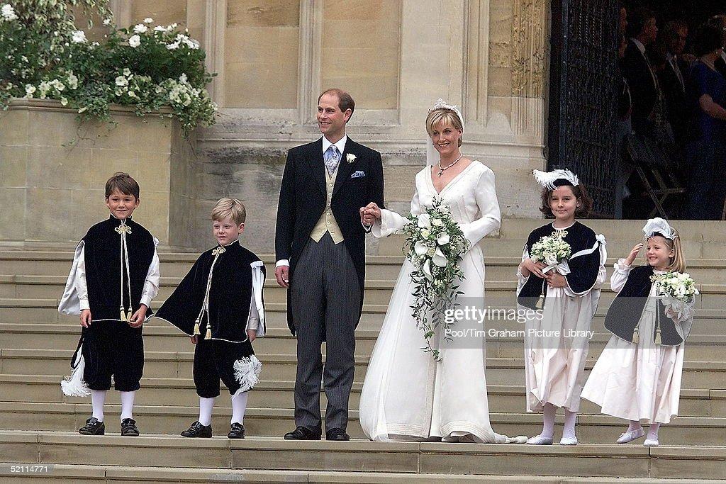 Edward Sophie Wedding : News Photo
