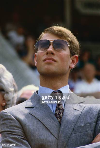 Prince Edward at the the Royal Ascot Spectacular charity event on July 22, 1984.