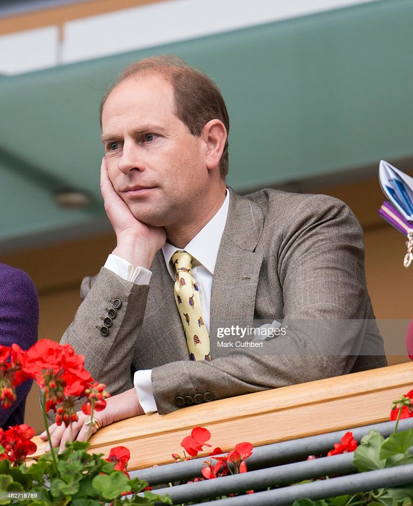 Prince Edward attends day one of the Autumn Meeting at Ascot Racecourse on October 5, 2012 in Ascot, England.
