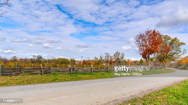 prince edward county, canada, oct 17,vinyard and rural r - contea di prince edward ontario foto e immagini stock