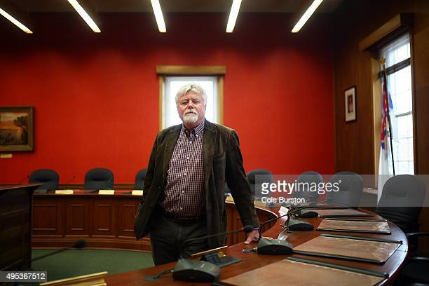 Prince Edward County councillor Bill Roberts poses for a portrait in Picton's Shire Hall on October 20, 2015. Bill and his team helped in finding the...