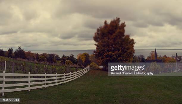 prince edward county - contea di prince edward ontario foto e immagini stock