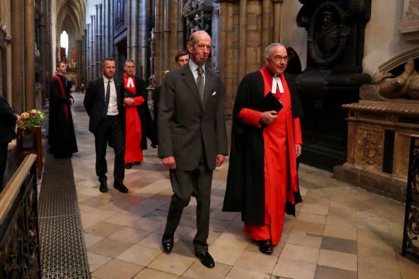 GBR: Dedication Of A Memorial Stone to P g Wodehouse At Westminster Abbey