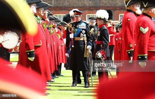 Prince Edward Duke of Kent attends the Founders Day Parade at Royal Hospital Chelsea on June 5 2014 in London England