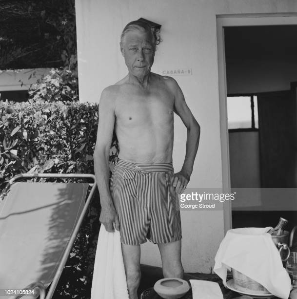 Prince Edward, Duke of Windsor pictured relaxing after playing a round of golf at a resort in Spain on 23rd September 1963.