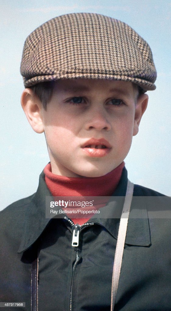 Prince Edward during the Badminton Horse Trials in Gloucestershire on 15th April 1972.
