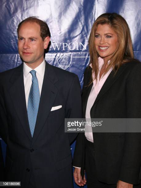HRH Prince Edward Earl of Wessex and Kathy Ireland