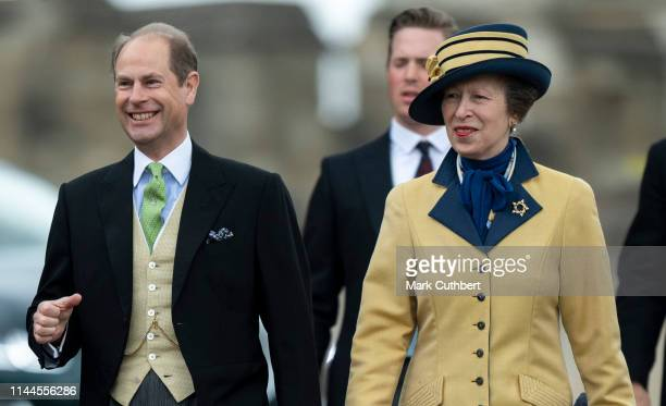 Prince Edward, Earl of Wessex and Princess Anne, Princess Royal attend the wedding of Lady Gabriella Windsor and Mr Thomas Kingston at St George's...