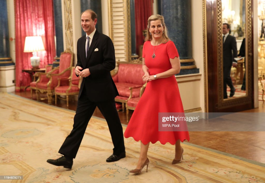 The Duke And Duchess Of Cambridge Host A Reception To Mark The UK-Africa Investment Summit : News Photo