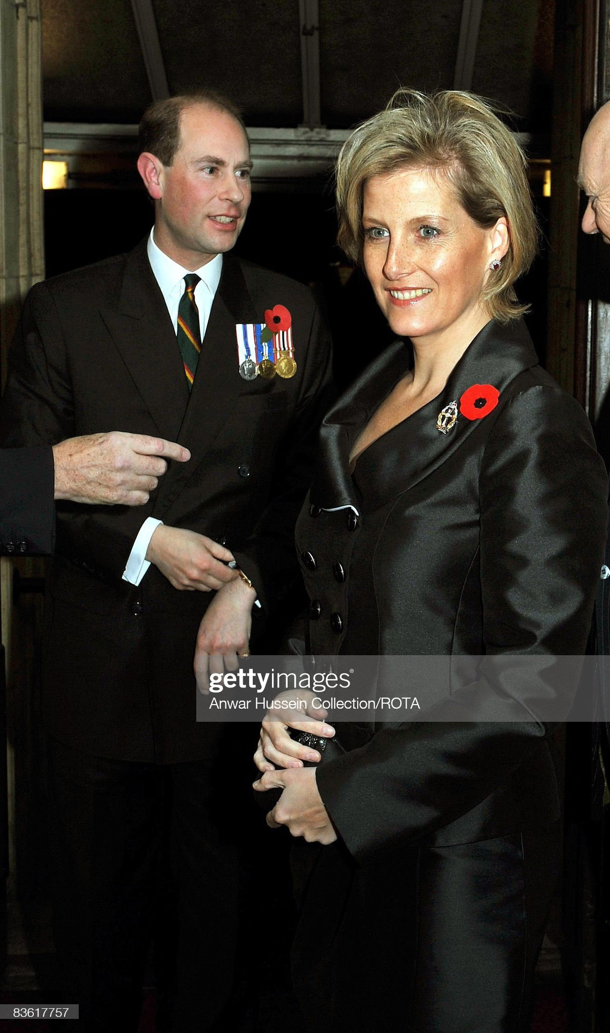 Royals Attend The Festival Of Remembrance : News Photo