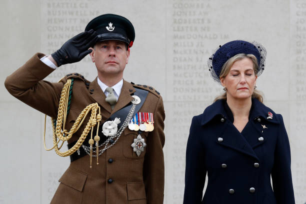 GBR: Remembrance Day At The National Arboretum