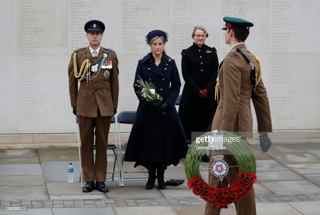 Remembrance Day At The National Arboretum : News Photo