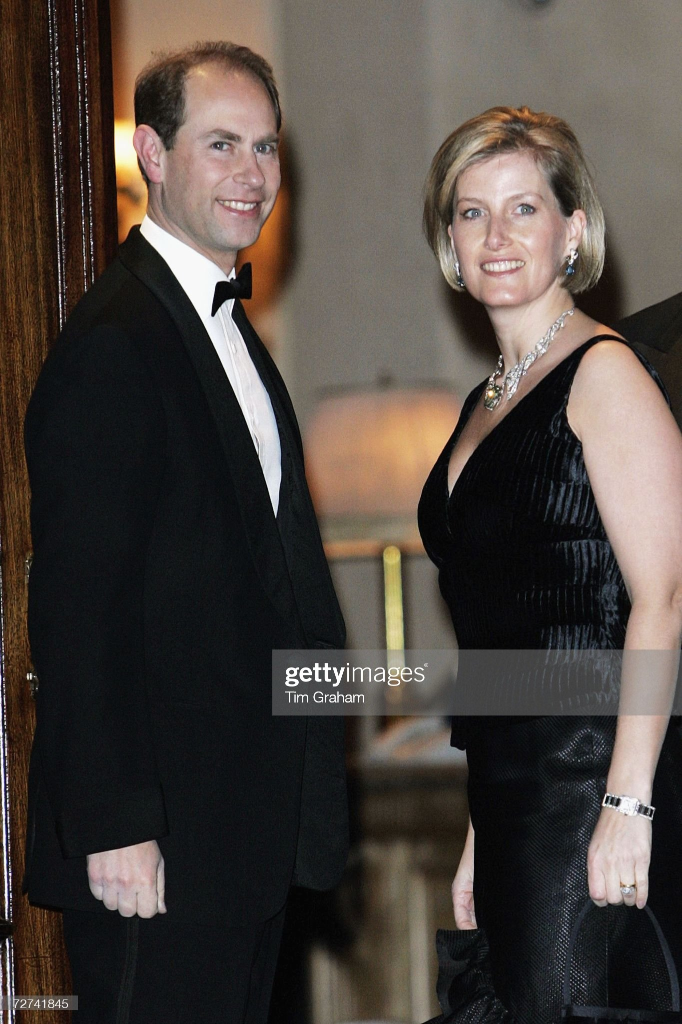 Earl & Countess of Wessex at Ritz Party : News Photo