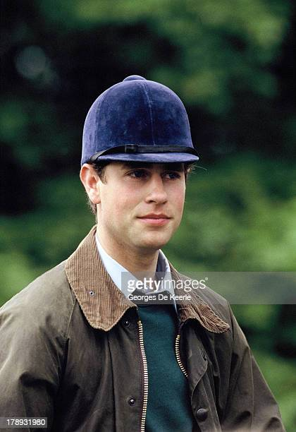 Prince Edward Earl of Wessex at the Royal Windsor Horse Show at Home Park on May 16 1990 in Windsor England