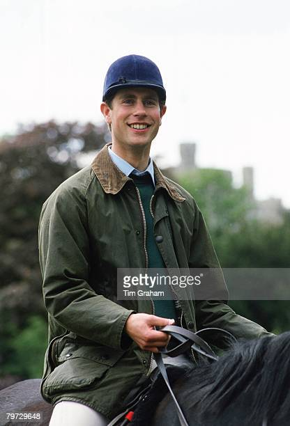 Prince Edward Earl of Wessex at the Royal Windsor Horse Show