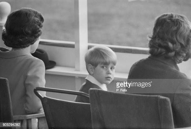 Prince Edward, Earl of Wessex, attending Royal Windsor Horse Show, UK, 12th May 1968.