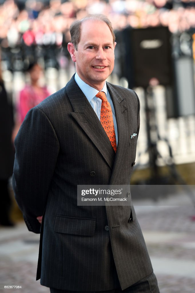 Prince Edward, Earl of Wessex attends the annual Commonwealth Day service and reception during Commonwealth Day celebrations on March 13, 2017 in London, England.