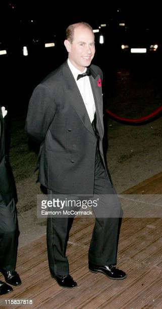 Prince Edward Earl of Wessex during The National Youth Theatre 50th Anniversary Gala Fundraising Dinner Arrivals at Battersea Evolution in London...