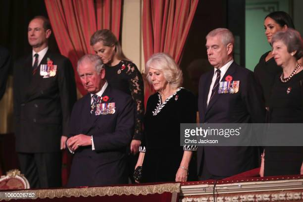 Prince Edward Earl of Wessex Sophie Countess of Wessex Prince Charles Prince of Wales Camilla Duchess of Cornwall Prince Andrew Duke of York Meghan...