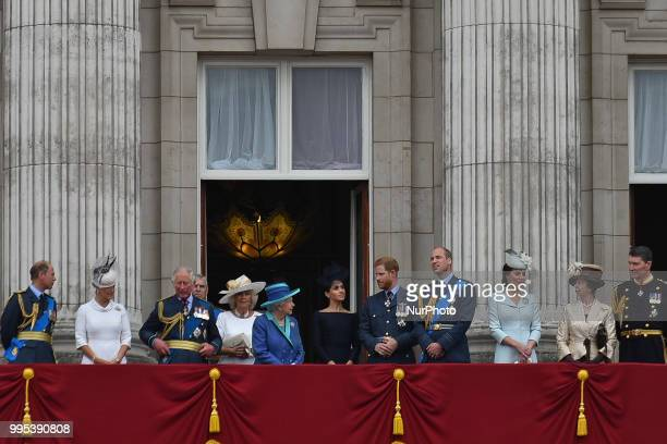 Prince Edward Earl of Wessex Sophie Countess of Wessex Prince Charles Prince of Wales Prince Andrew Duke of York Camilla Duchess of Cornwall Queen...