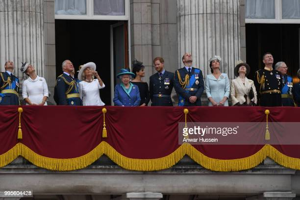 Prince Edward Earl of Wessex Sophie Countess of Wessex Prince Charles Prince of Wales Camilla Duchess of Cornwall Queen Elizabeth ll Meghan Duchess...